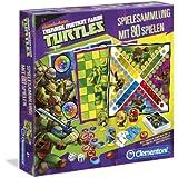 Clementoni 69261.3 - Ninja Turtles - Spielesammlung, 80 Spielvarianten
