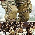 Ever Fairy Combat Taktischer Militär Hard X Knieschoner Ellenbogenschoner Tactical Schutz Sport Sicherheit Pads