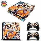 Wolfsburg EishockeySony PS4 Playstation-Sticker, Aufklebermaterial aus Vinyl, Fanartikel, Sportfan