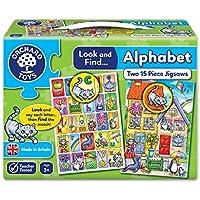 Orchard Toys - Puzzle con diseño de alfabeto y pan de sierra – 2 sierras en una caja
