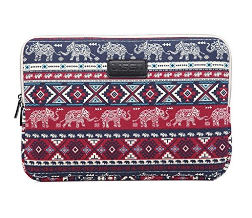 yuni-13-inch-elephant-canvas-fabric-laptop-sleeve-notebook-computer-case-ultrabook-tablet-briefcase-