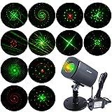 Best Landscape Lights - [ANTSIR Galaxy projector Light] Outdoor&Indoor Waterproof Red Review