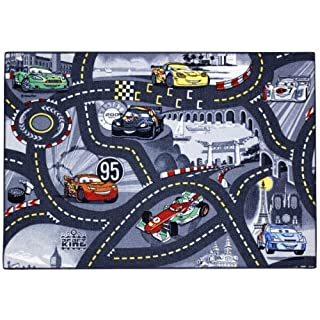 Associated Weavers Kinderteppich World of Cars 97, 95 x 133 cm