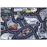Associated Weavers 95 x 133 cm Cars Street World Play Mat