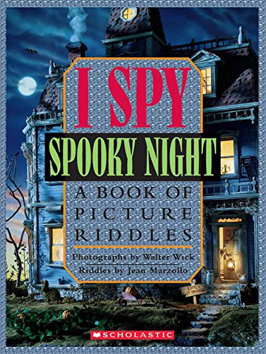 I Spy Spooky Night: A Book of Picture Riddles (Für Online Halloween Spiele)