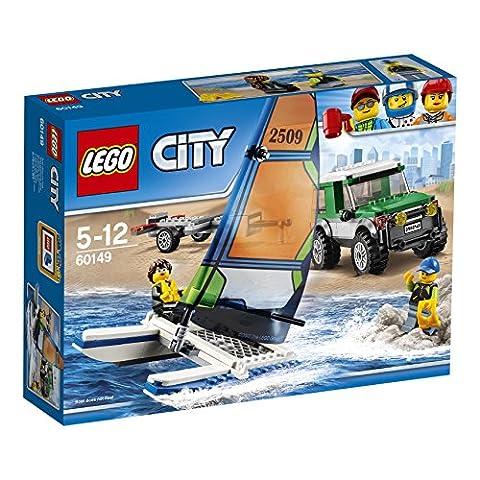 LEGO - 60149 - City - Jeu de construction - Le 4x4 avec Catamaran