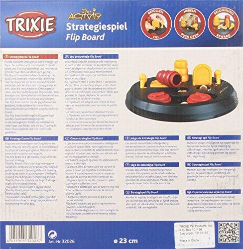 Trixie Dog Activity Flip Board Strategiespiel für Hunde, 23 cm - 7