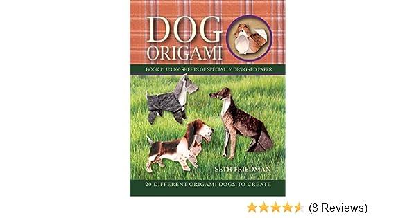 Origami German 🐕 Shepherd Dog 🐕 - Step by Step Tutorial ... | 315x600