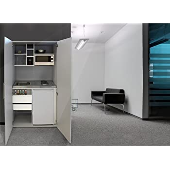 Respekta Single Ufficio Pantry cucina mini cucina armadio da cucina ...