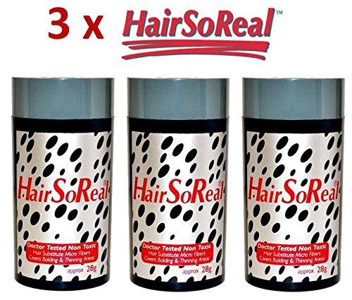 3x 28g hairso Real microhairs pelo