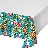 Creative Converting 319998Border Print Kunststoff-Tischdecke, 137,2x 259,1cm Aloha