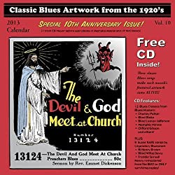 Classic Blues Artwork from the 1920's: 2013 Calendar (+CD) by Various Artists (2012) Audio CD