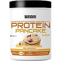 Weider Protein Pancake Mix. Goût Banane. Préparation protéinée pour pancakes. 3 sources de protéines : lactosérum, œuf…