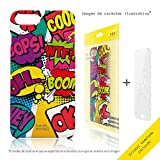 Funnytech Iphone 4 / 4S Coque Housse TPU Silicone pour Iphone 4 / 4S l [Design...