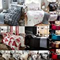 5pc Bed In A Bag Bedding Set With 2 Pillow Cases 1 Bed Runner and 1 Cushion Cover Duvet Cover Set King Size Double Super king Bedding Printed Quilt Cover Set Vintage Luxury