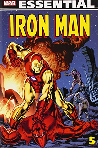 Essential Iron Man - Volume 5 by Mike Friedrich (23-Apr-2013) Paperback