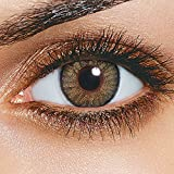 #10: Skhoza Monthly Coloured Contact Lens-Zero power (hazel)