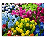 Jun XT Gaming Mousepad Bild-ID: 19445020Bunte Tulpen schönen Frühling Blumen Spring Landschaft