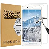 [2 Pack] Huawei P10 Screen Protector, Rusee Huawei P10 Tempered Glass [High Definition][Bubble Free][9H Hardness] Screen Protector Film Guard Cover for Huawei P10