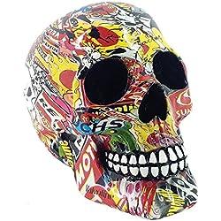 Nemesis Now Pop Art Skull
