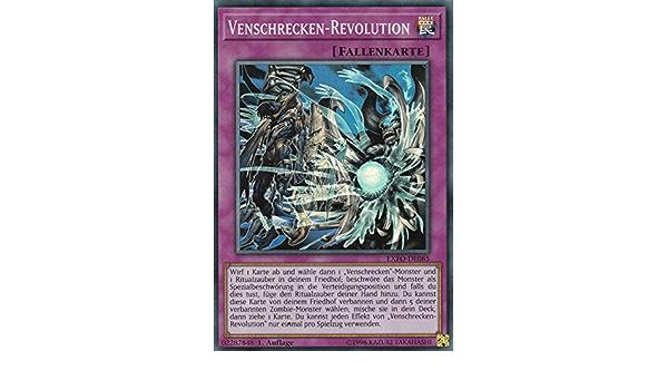 Super Rare Deutsch EXFO-DE085 Venschrecken-Revolution Yu-Gi-Oh Auflage 1