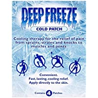 6 x Deep Freeze Kälte gut Patch 4 Patches preisvergleich bei billige-tabletten.eu
