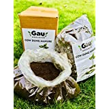 Gau Organic Cow Dung Manure for Plants - 2 Kg