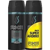 Axe Desodorante Apollo - pack de 2 x 150 ml (Total: 300 ml)