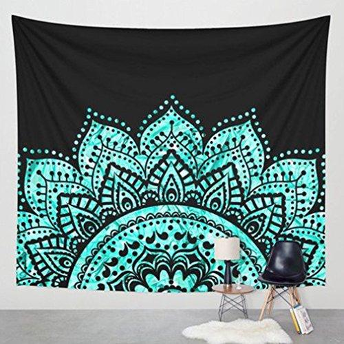 Mandala Tapisserie Indische Wandbehang, Indische Hippie Tapisserie, Bettlaken, Twin Size Bettwäsche Tagesdecke, Tröster Picknick Strand Blatt (Tröster Bettwäsche-bettwäsche-satz)