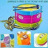Domybest 5 Teile / satz Baby Mädchen Trommel Musikinstrumente Trommel Set Kinder Spielzeug