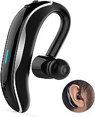 Auricolare Bluetooth,HOTGO V4.1 Senza Fili Auricolari Bluetooth, Con Microfono Ad Alta Definizione e Cancellazione del Rumore, Adatto Per iphone, Sumsung, Huawei, Sony, LG, E Altri Smartphone-Nero