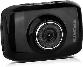 Sport Action Camcorder für Fotos und Videos - 120° Weitwinkel, Wasserdicht, 1080p, Touchscreen, Akku