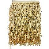 Eerafashionicing 9.5mtr Golden Tessals Laces for Dresses, Sarees, Lehenga, Suits, Bags, Decorations, Borders, Crafts