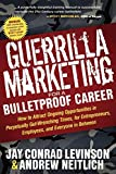 Guerrilla Marketing for a Bulletproof Career is an honest, practical, and hard-hitting guide for career success in perpetually uncertain times. It provides a road map to advance your career and prosper without being blindsided by overnight industry c...