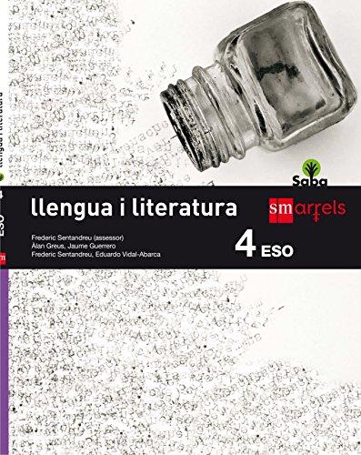 Llengua i literatura. 4 ESO. Saba - 9788467587456