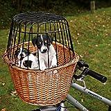 Trixie 2806 Fahrradkorb mit Gitter 44 × 48 × 33