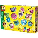SES Creative 14001 Bastel-Set Kreativ-Packung MUSCHELN ANMALEN
