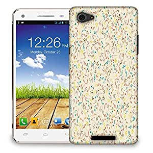 Snoogg Multiple Music Designer Protective Phone Back Case Cover For Micromax Canvas Hue 2 A316