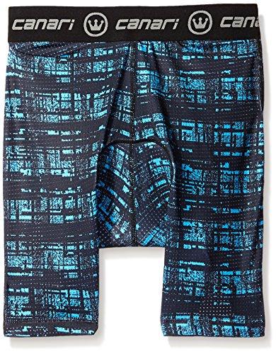 Canari Crazy Liner, Herren, Blue Hatch, XX-Large (Canari Bike Shorts)