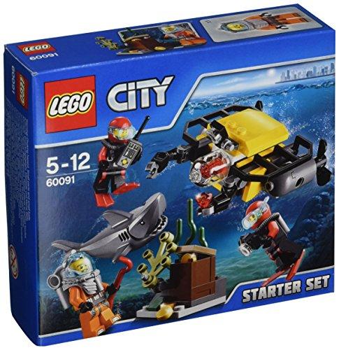 LEGO - City 60091 Starter Set Esplorazione Subacquea