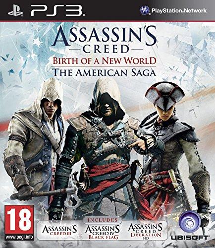 Ubisoft Assasins Creed: Birth Of a New World The American Saga, PS3 [Edizione: Regno Unito]