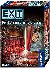 """Kosmos Spiele 694029 - """"Exit - Spiel: Tote im Orient-Express Brettspiel"""