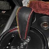 Cambios de cuero cubierta de la perilla del cambio vierte por Mitsubishi ASX de Mitsubishi Outlander Lancer EX Traductor