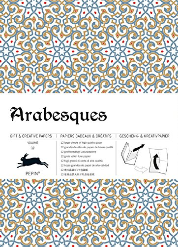 Arabesques- Volume 12 (Gift Wrapping Paper Book)