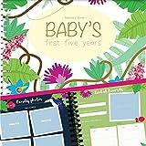 Album de Recuerdos de los Primeros Cinco Años del Bebé - Agenda de los Primeros 5 Años por Unconditional Rosie. Libro + 12 Pegatinas Incluidas (Libro Escrito en Idioma Inglés)