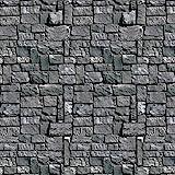 Stone Wall Kulisse Partei Zubehör (1 count) (1 / Pkg)