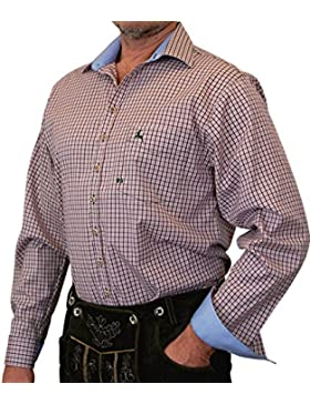 Orbis Trachtenhemd Karohemd Hemd Alois auch in Übergröße