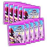 Panini - My little Pony der Film - Sammelsticker - 10 Booster