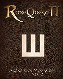 Mongoose - Runequest 2 - Arène des Monstres Volume 1