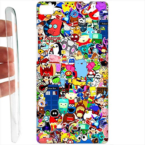 Custodia cover RIGIDA per Huawei P8 Lite - 560 Cartoon